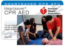 HS CPR AED courses