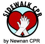 Newnan CPR does Sidewalk CPR