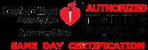 Same-Day AHA certification