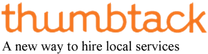 Thumbtack is a free service to help you find service providers
