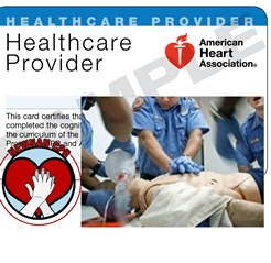 BLS for Healthcare Providers certification for Halloween CPR