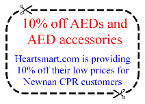 10% off AED equipment