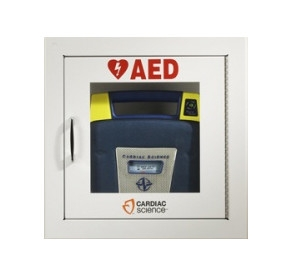 Cardiac Science AED Wall Cabinet - Surface Mount w/Audbile Alarm