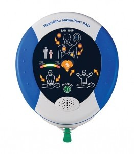 New HeartSine 450P w/CPR Rate ADvisor