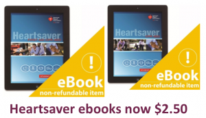 Heartsaver ebooks now $2.50